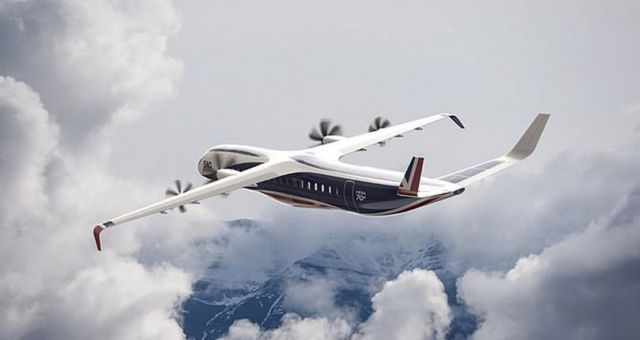 Electric Aviation Hybrid Electric plane (1)