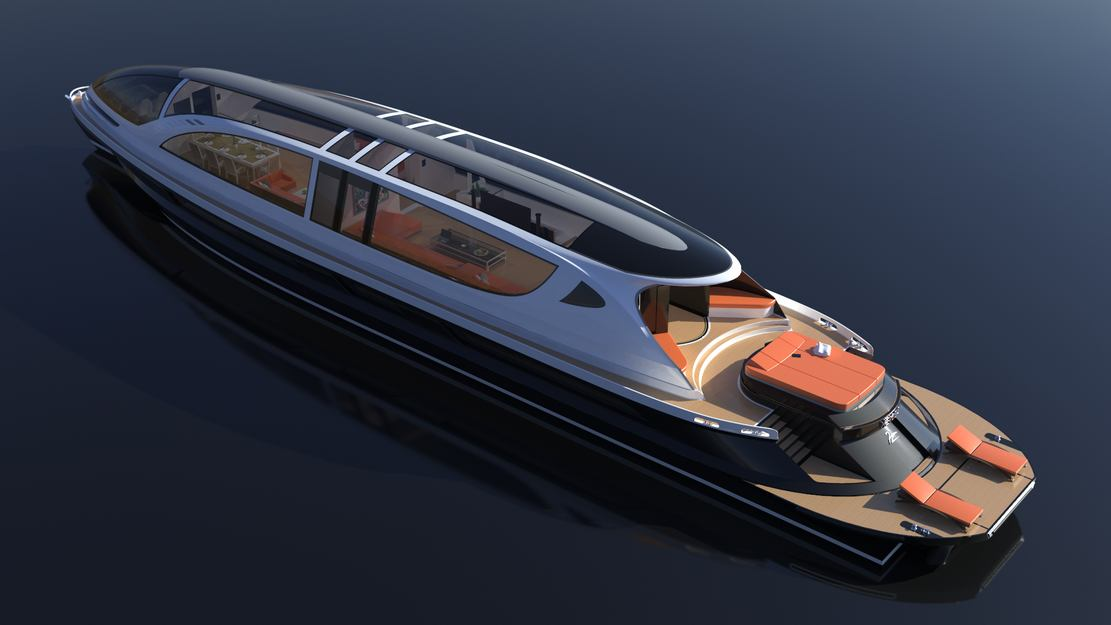 XENOS 39 meters Superyacht