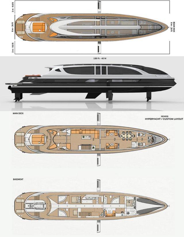 XENOS 39 meters Superyacht (2)