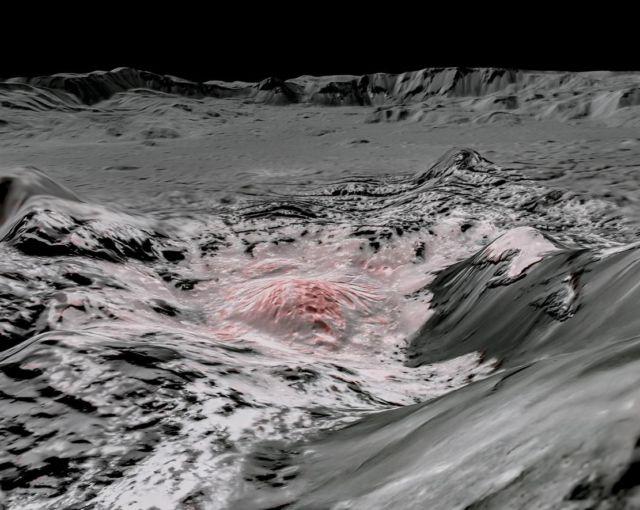 A Secret Saltwater Reservoir on Dwarf Planet Ceres discovered