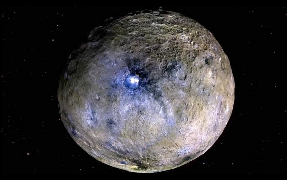 A Secret Saltwater Reservoir on Dwarf Planet Ceres discovered