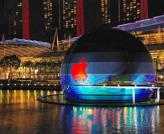 Apple Marina Bay Sands store