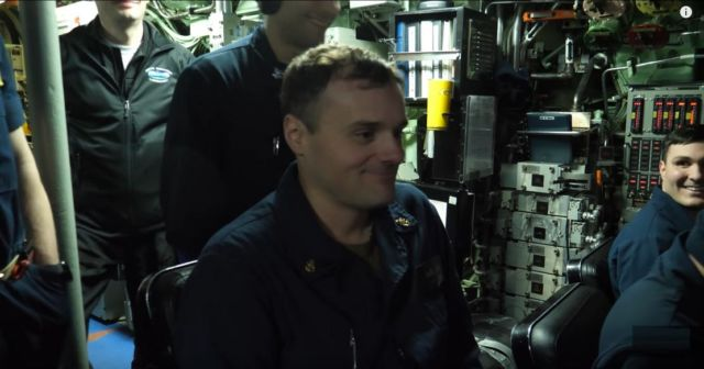 Boarding a US NAVY Nuclear Submarine in the Arctic