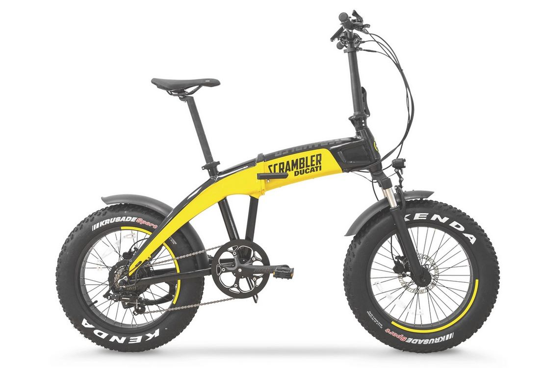 Ducati Folding electric bicycles
