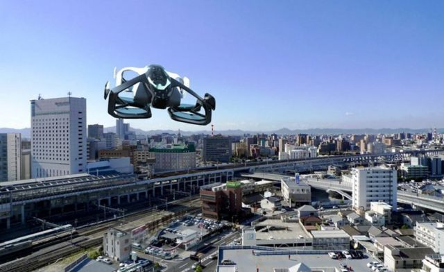 Flying Cars are becoming a reality in Japan (2)