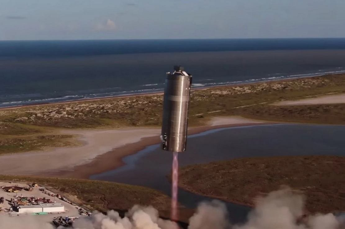 Gigantic SpaceX Starship SN5 successfully completes 150-Meter Hop