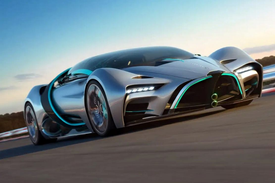 Hyperion XP-1 Hydrogen-powered hypercar (10)