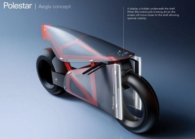 Polestar Aegis motorcycle concept (5)