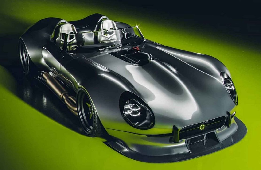 Retro - Futuristic Jaguar E-Type (4)