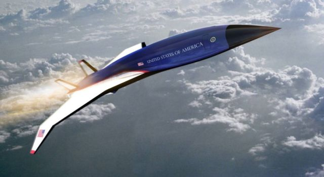 The new Air Force One Hypersonic Jet