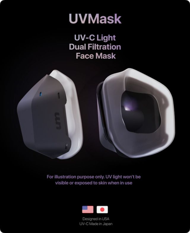 UVMask Air Purification Face Mask (2)