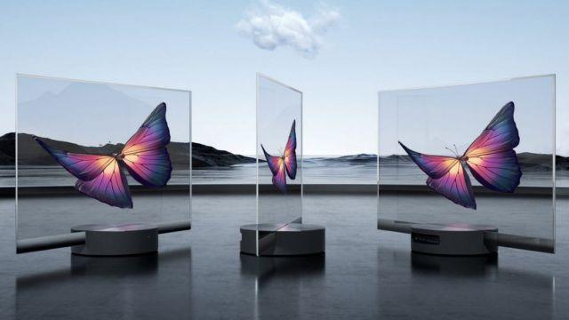 Xiaomi Mi TV LUX Transparent TV (2)