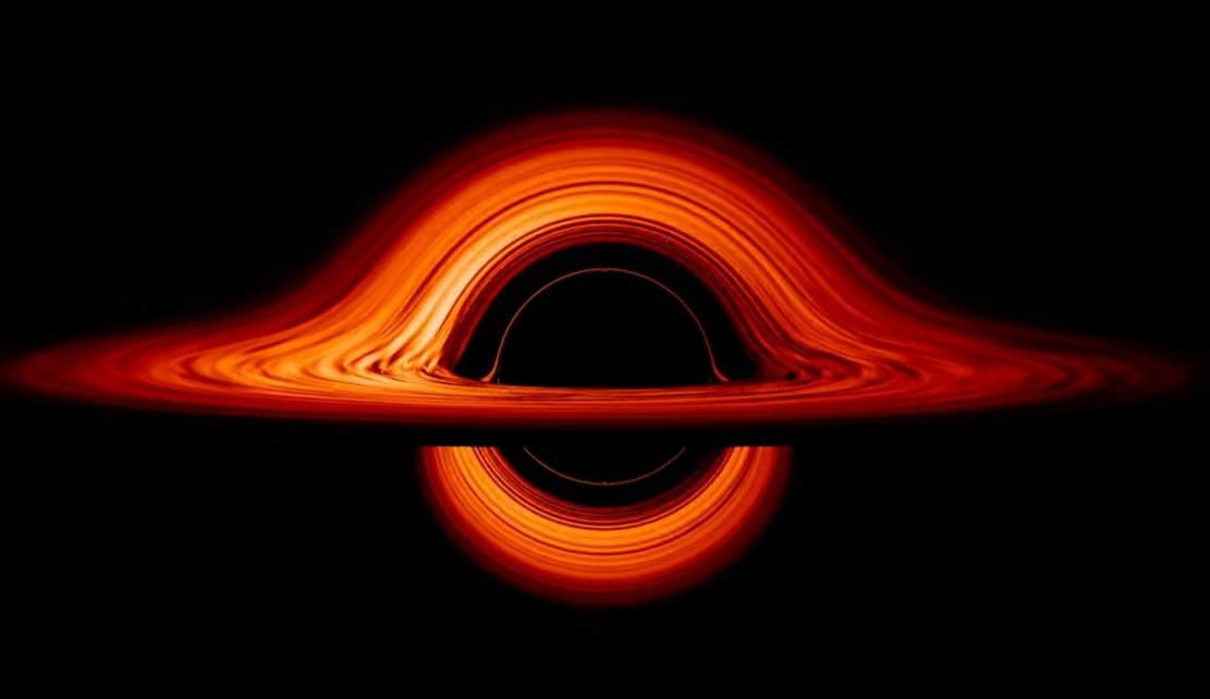 A Black Hole Accretion Disk - visualization