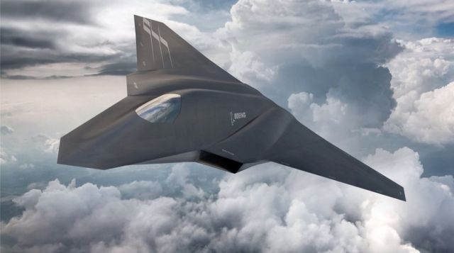 Next Generation Air Dominance aircraft concept by Boeing