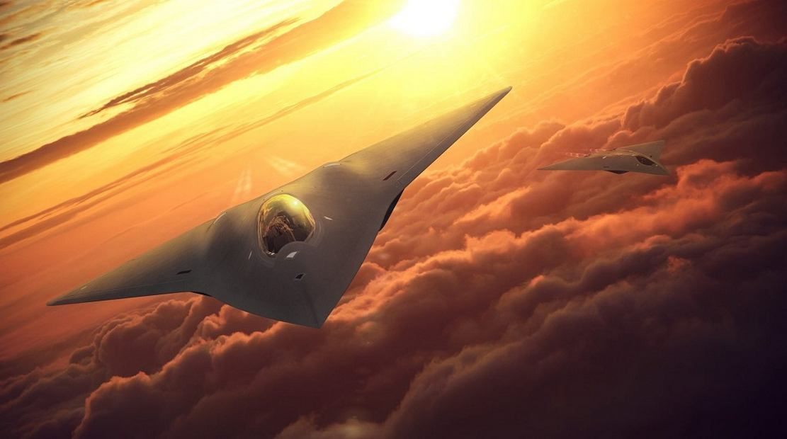 Next Generation Air Dominance aircraft concept by Lockheed Martin's Skunk Works