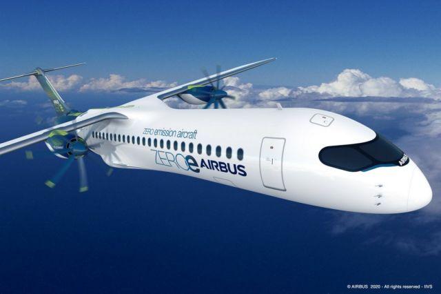 Airbus unveils ZEROe Hydrogen-powered aircraft (4)