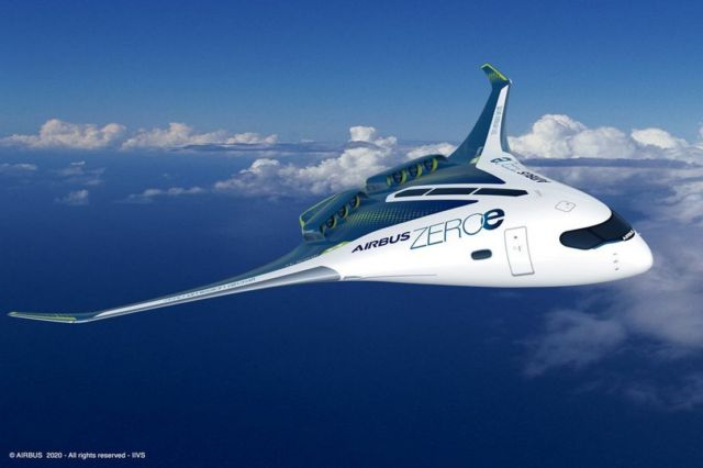 Airbus unveils ZEROe Hydrogen-powered aircraft (3)