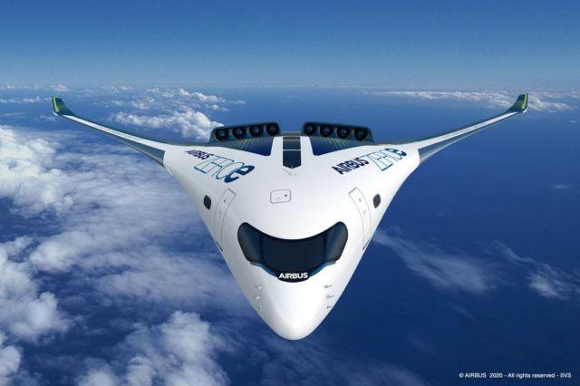 Airbus unveils ZEROe Hydrogen-powered aircraft (2)