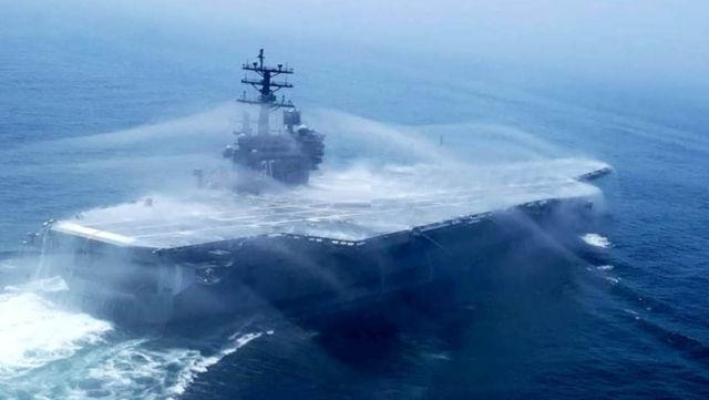 Aircraft Carrier Bio Force Field - Countermeasure Washdown