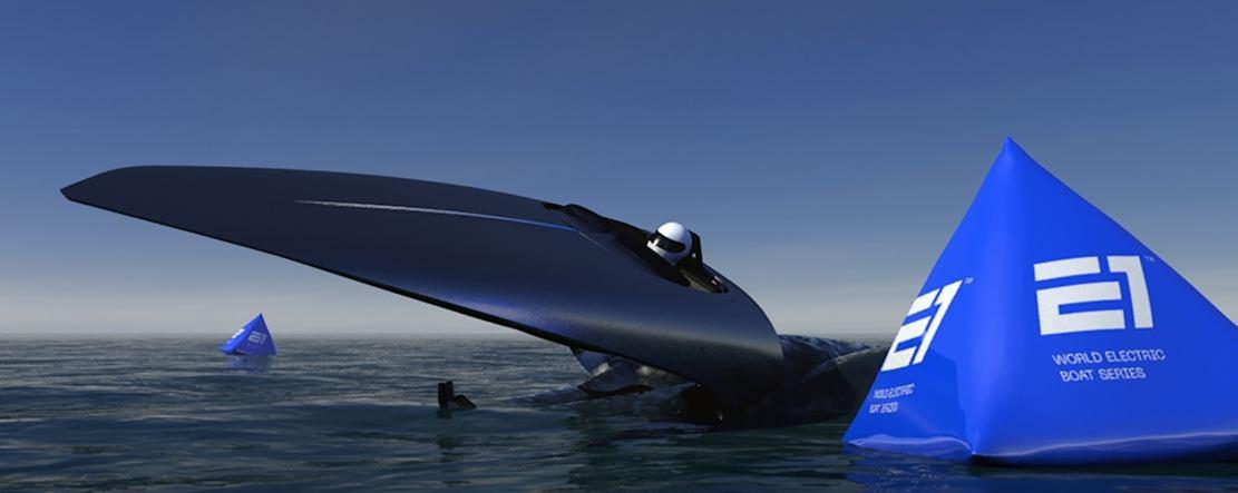 E1 Electric Hydrofoil racing boats (1)