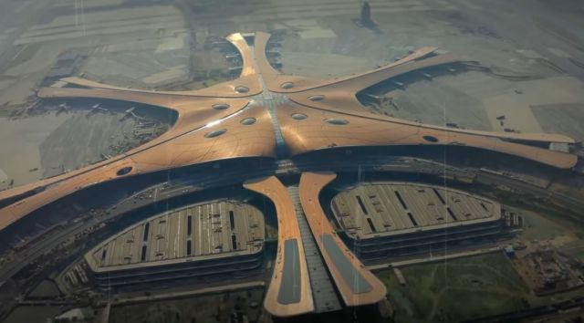 Inside China's New $18 Billion Airport