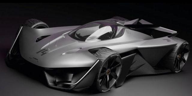 LMF1 Racing prototype concept