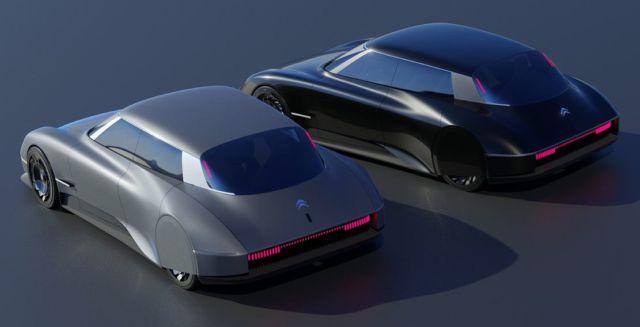 Modern Citroen DS concept (5)