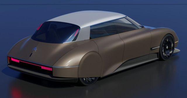 Modern Citroen DS concept (2)