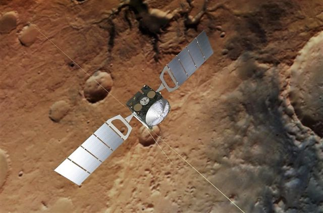 Illustration of Mars Express