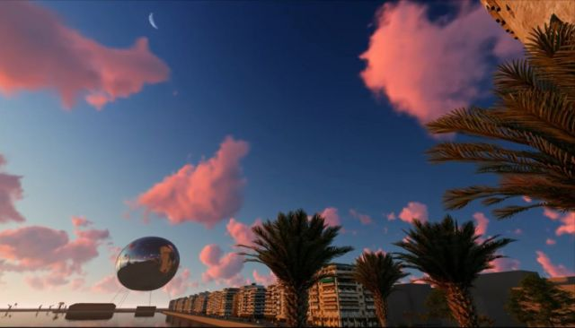 Orb Illuminating Sphere proposed to float over Thessaloniki