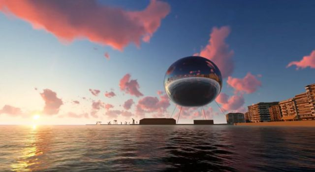 Orb Illuminating Sphere proposed to float over Thessaloniki (4)