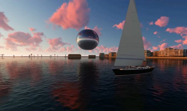 Orb Illuminating Sphere proposed to float over Thessaloniki (3)