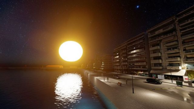 Orb Illuminating Sphere proposed to float over Thessaloniki (2)