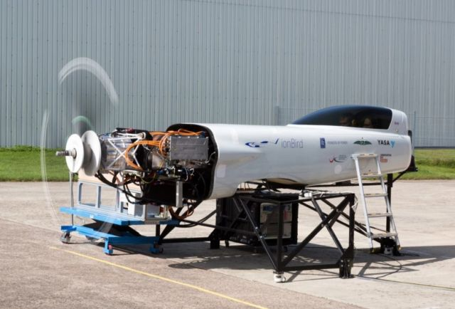Rolls-Royce electric plane
