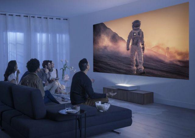 Samsung new Cinematic 4K Laser Projector