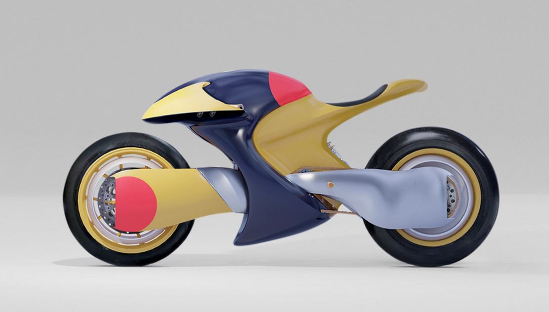 TTT Electric Motorcycle concept (1)