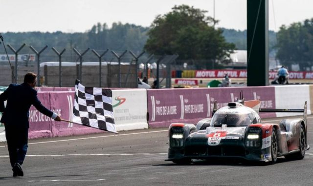 Toyota wins the 24 Hours of Le Mans for 3rd consecutive year