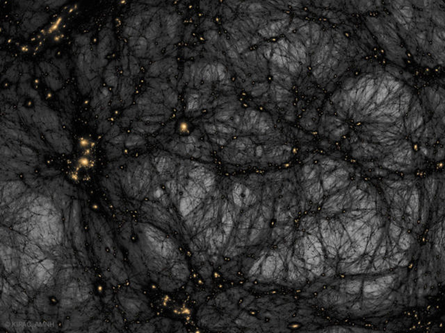 Dark Matter in a Simulated Universe