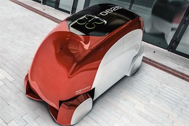 ERKA  Autonomous Ambulance concept