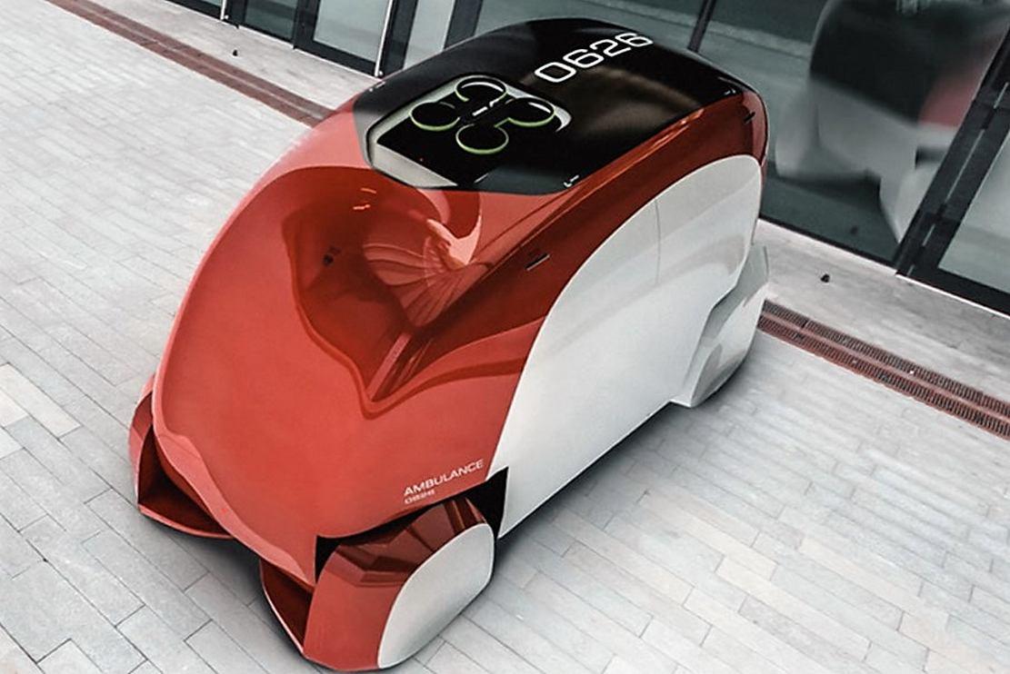 ERKA Autonomous Ambulance concept (8)