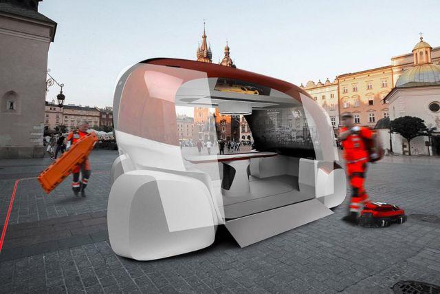 ERKA Autonomous Ambulance concept (7)