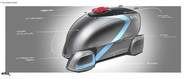 ERKA Autonomous Ambulance concept (3)