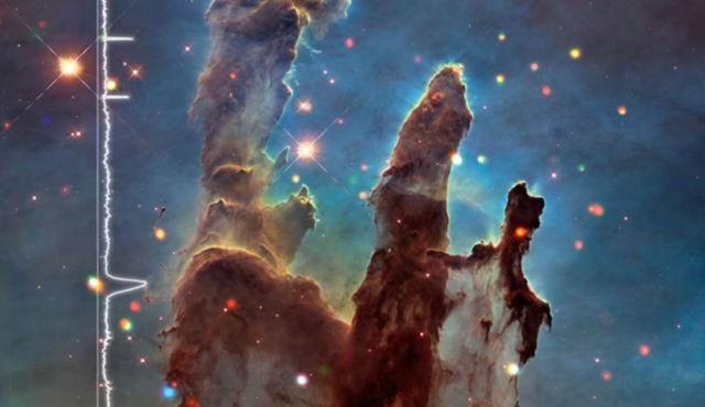 Eagle Nebula Pillars sonified