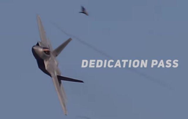 F-22 Raptor Precision Aerial Maneuvers