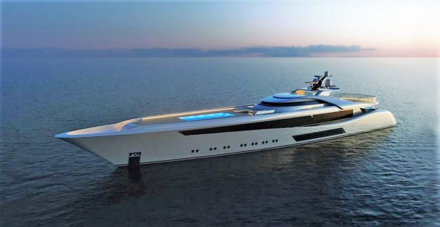 Feadship Project 3073 Sports Yacht concept
