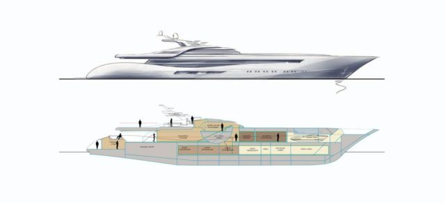 Feadship Project 3073 Sports Yacht concept (1)
