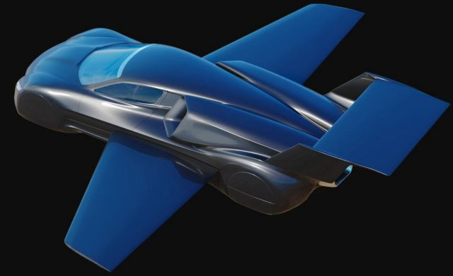 Firenze Twin-jet flying Hypercar concept (10)