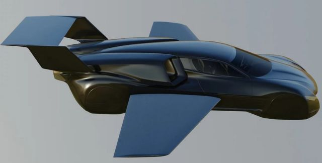 Firenze Twin-jet flying Hypercar concept (8)