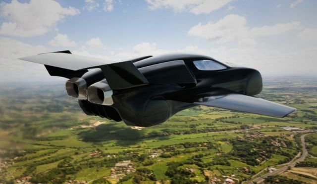 Firenze Twin-jet flying Hypercar concept (7)