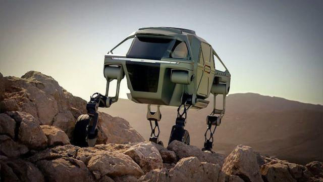 Hyundai Four-Legged 4x4 Robo-cars